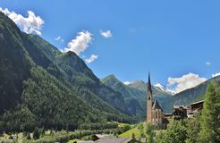 Heiligenblut, Austria Immagine Stock Libera da Diritti