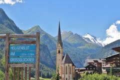 Heiligenblut, Austria Fotografia Stock