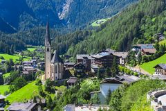 Heiligenblut church in Austria Royalty Free Stock Image
