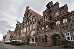 Heiligengeiststrasse, Luneburg, Germany Royalty Free Stock Photo