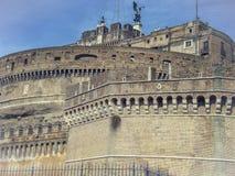 Heiligengel SchlossKaste sant'Angelo in Rom Lizenzfreies Stockbild