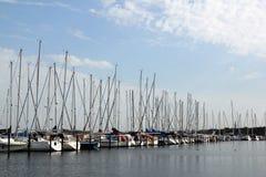 Heiligenhafen harbor Stock Photo