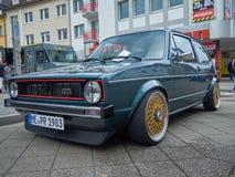 Heiligenhaus / NRW / Germany - September 08.2019 VW Golf I GTI on the Oldtimer meeting in Heiligenhaus.