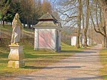 Heiligenkreuz - estaciones de la cruz Foto de archivo libre de regalías