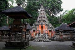 Heiliger Affe Forest Sanctuary in Ubud Bali-Insel, Indonesien Lizenzfreie Stockbilder