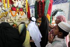 Heiliger Ashura feiert Dhaka, Bangladesch stockbilder
