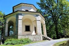 Heiliger Berg-Kalvarienberg von Domodossola Lizenzfreie Stockfotografie