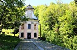 Heiliger Berg-Kalvarienberg von Domodossola Lizenzfreies Stockbild