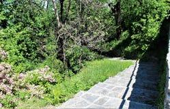 Heiliger Berg-Kalvarienberg von Domodossola Stockfoto