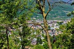 Heiliger Berg-Kalvarienberg von Domodossola Stockbild