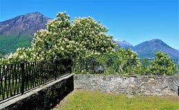 Heiliger Berg-Kalvarienberg von Domodossola Stockfotografie