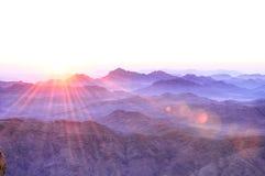 Heiliger Berg Sinai Lizenzfreie Stockfotos