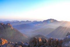 Heiliger Berg Sinai Lizenzfreie Stockfotografie