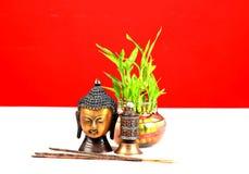 Heiliger Buddha Stockfoto