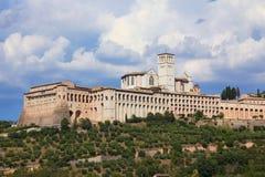 Heiliger Francis-Abtei in Assisi, Italien Lizenzfreie Stockbilder