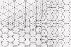Heiliger Geometriesymbol- und -elementhintergrund lizenzfreie abbildung
