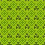 Heiliger Patrick-Musterhintergrund Stockbild