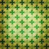 Heiliger Patrick-\ 's-Tageshintergrund, stock abbildung