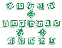 Heiliger Patrick-Tag. vektor abbildung