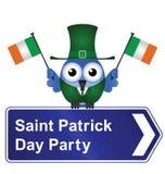 Heiliger Patrick-Tagesparty lizenzfreie abbildung