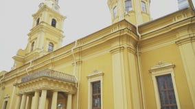 Heiliger Peter-und Paul-Kathedrale stock video footage