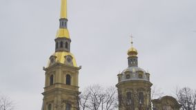 Heiliger Peter-und Paul-Kathedrale stock video