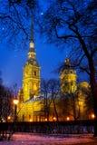 Heiliger Peter-und Paul-Kathedrale Stockfotografie