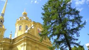 Heiliger Peter-und Paul-Kathedrale stock footage