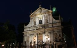 Heiliger Peter-und Paul-Kirche Lizenzfreie Stockfotos