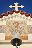 Heiliger Tempel in Rhodos Stockfoto