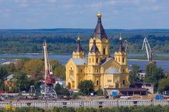 Heiliges Alexander Nevsky Cathedral lizenzfreie stockfotografie