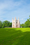 Heiliges Alexander Nevsky Church in Peterhof, Russland. Stockfoto