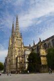 Heiliges-André Kathedrale, Bordeaux Stockfotografie