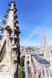 Heiliges Andre Cathedral auf Platz Pey-Berland im Bordeaux Stockfotografie