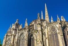 Heiliges Andre Cathedral von Bordeaux, Frankreich stockbilder