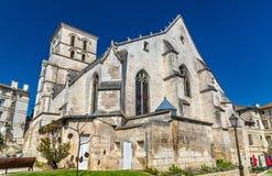 Heiliges Andre Church in Angoulême, Frankreich Stockbild