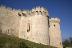 Heiliges Andre Fort und Schloss; Villeneuve-les Avignon Stockfotografie