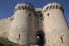 Heiliges Andre Fort und Schloss; Villeneuve-les Avignon Stockbilder