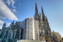 Heiliges Andre-Kathedrale im Bordeaux Lizenzfreies Stockfoto