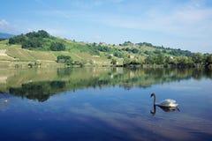 Heiliges Andre See im Wirsing, Frankreich Stockfotos