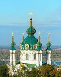 Heiliges Andrew Church Kiew, Ukraine lizenzfreie stockbilder