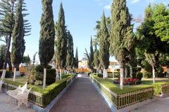 Heiliges Andrew Square in Cholula, Puebla lizenzfreies stockbild