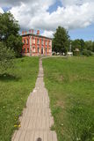 Heiliges Annahme-Kloster Staroladozhsky. lizenzfreie stockfotos