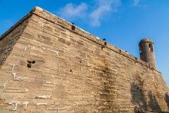 Heiliges Augustine Fort stockfoto