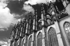 Heiliges Barbaras-Kirche Stockfotos