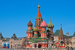 Heiliges Basil Cathedral Stockfoto