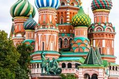 Heiliges Basil Cathedral, Roter Platz Lizenzfreie Stockfotos