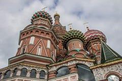 Heiliges Basil Cathedral, Roter Platz, Moskau Stockbild