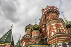 Heiliges Basil Cathedral, Roter Platz, Moskau Lizenzfreies Stockbild
