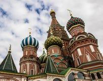 Heiliges Basil Cathedral, Roter Platz, Moskau Lizenzfreie Stockbilder